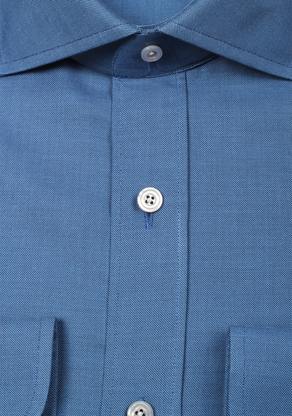 New Tom Ford Solid Blue Dress Shirt Size 45 18 Us 8719882014556