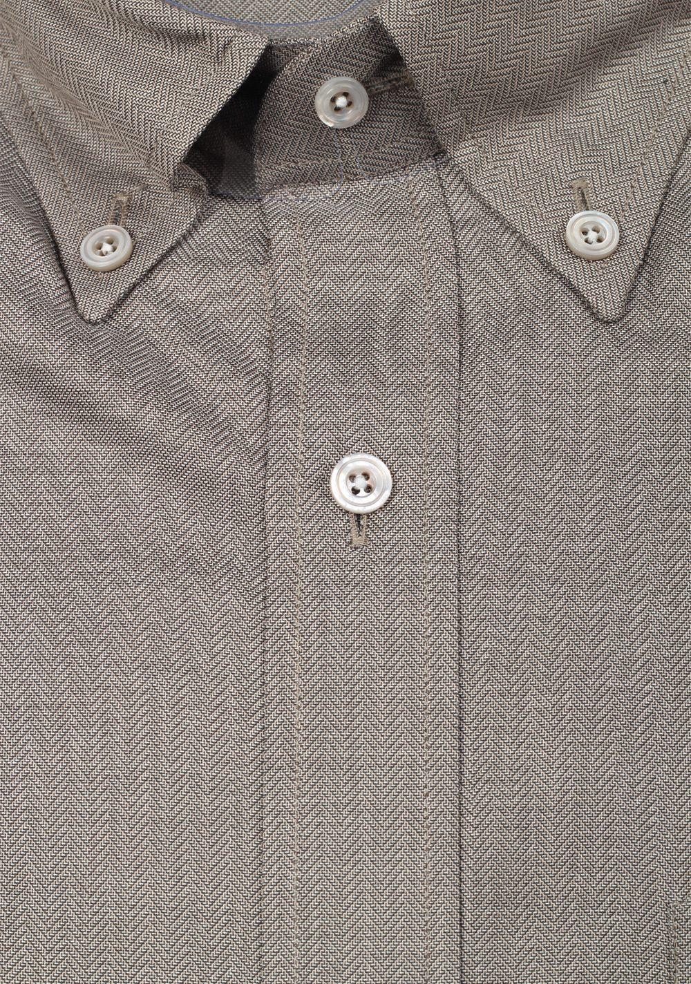 TOM FORD Solid Gray Button Down Dress Shirt Size 40 / 15,75 U.S. | Costume Limité