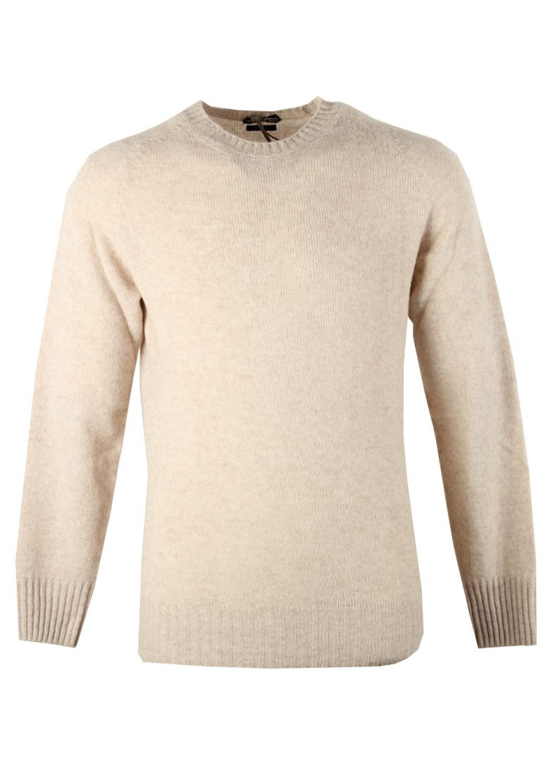 TOM FORD Beige Crew Neck Sweater Size 48 / 38R U.S. In Cashmere Blend - thumbnail | Costume Limité