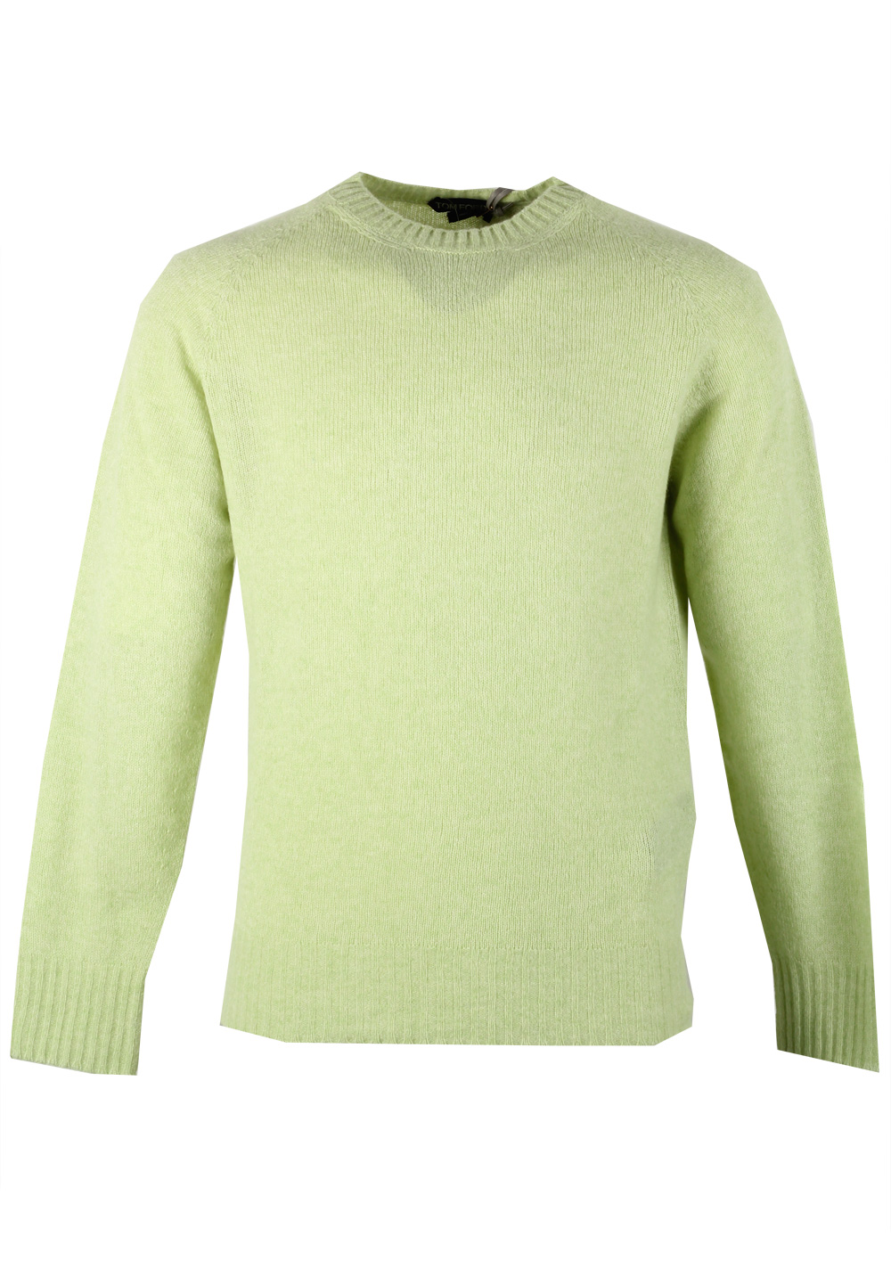 TOM FORD Green Crew Neck Sweater Size 48 / 38R U.S. In Cashmere Blend | Costume Limité