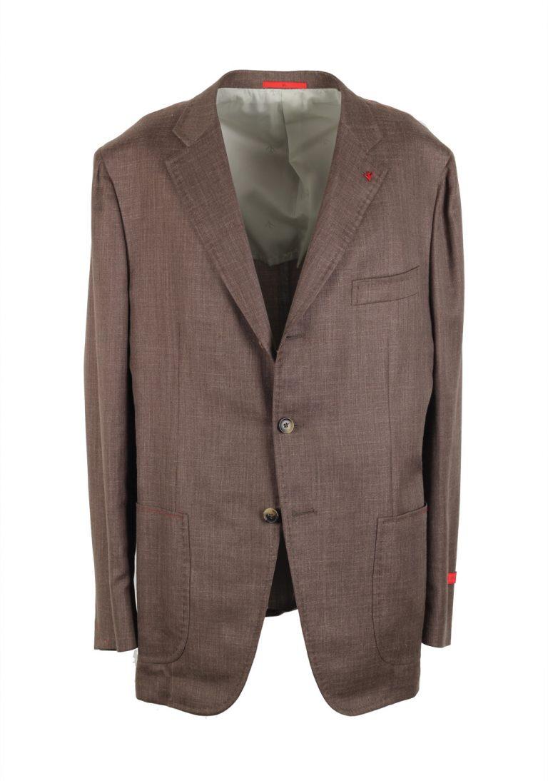 Isaia Sport Coat Size 56 / 46R U.S. Wool Linen Silk - thumbnail | Costume Limité