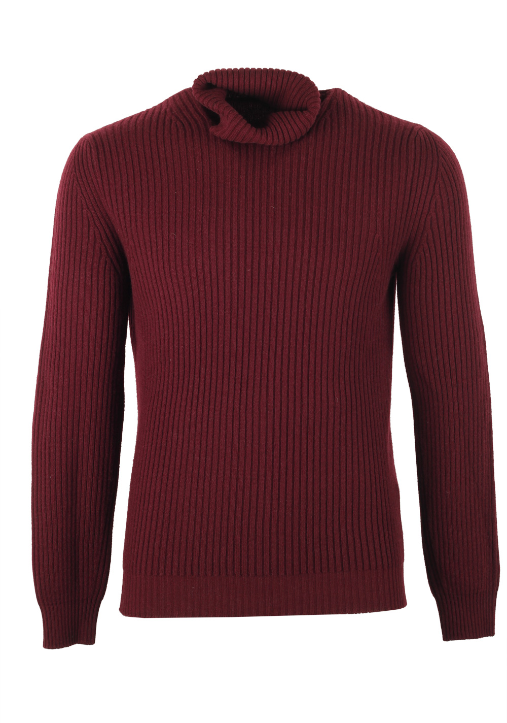 TOM FORD Red Turtleneck Sweater Size 48 / 38R U.S. In Wool Cashmere | Costume Limité