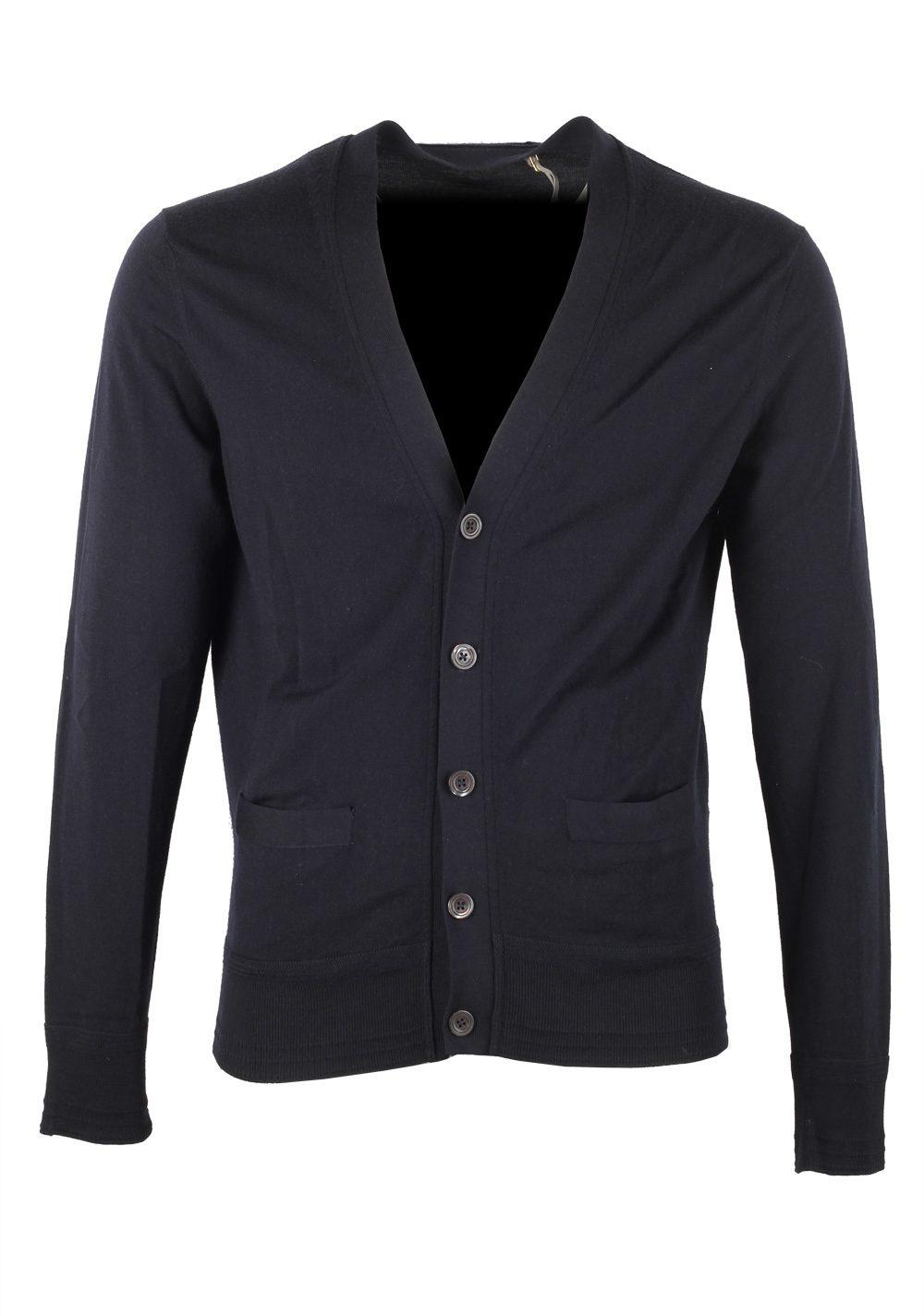 TOM FORD Blue Cardigan Size 48 / 38R U.S. in Wool | Costume Limité