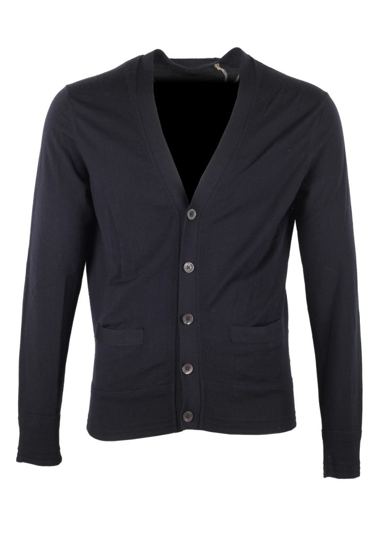 TOM FORD Blue Cardigan Size 48 / 38R U.S. in Wool - thumbnail | Costume Limité