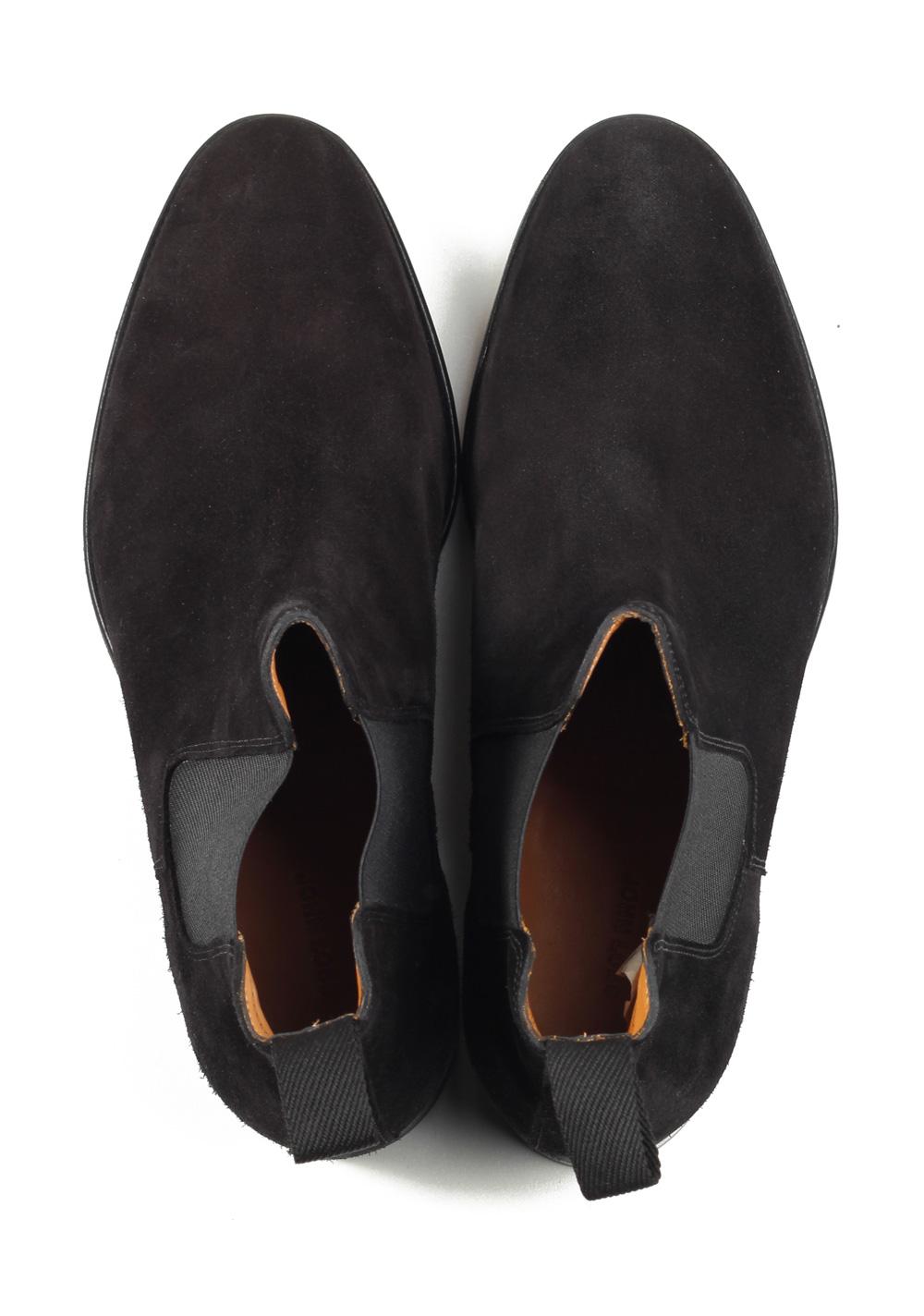 John Lobb Lawry Black Chelsea Boot Shoes Size 8 UK / 9 U.S. On 8695 Last | Costume Limité