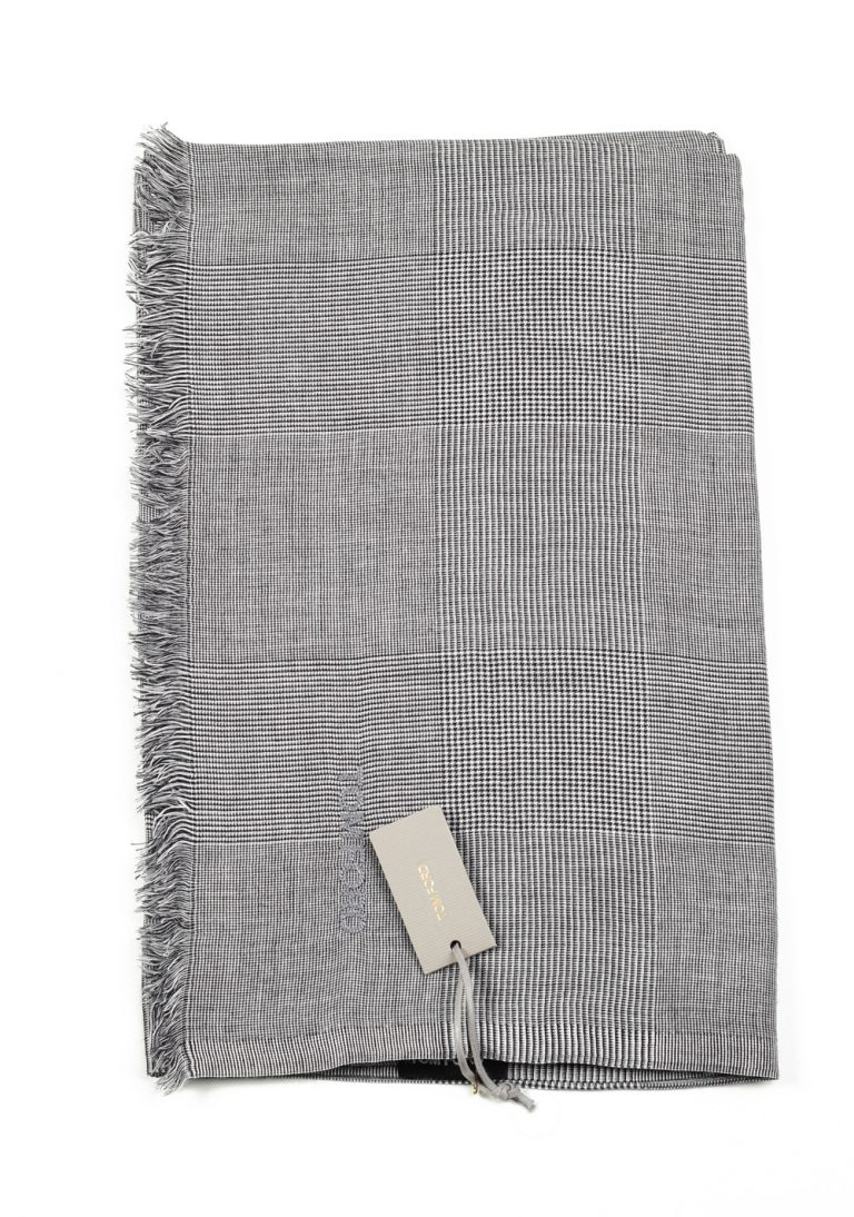 Tom Ford Gray Modal Cashmere Silk Signature Scarf 75″ / 30″ - thumbnail | Costume Limité