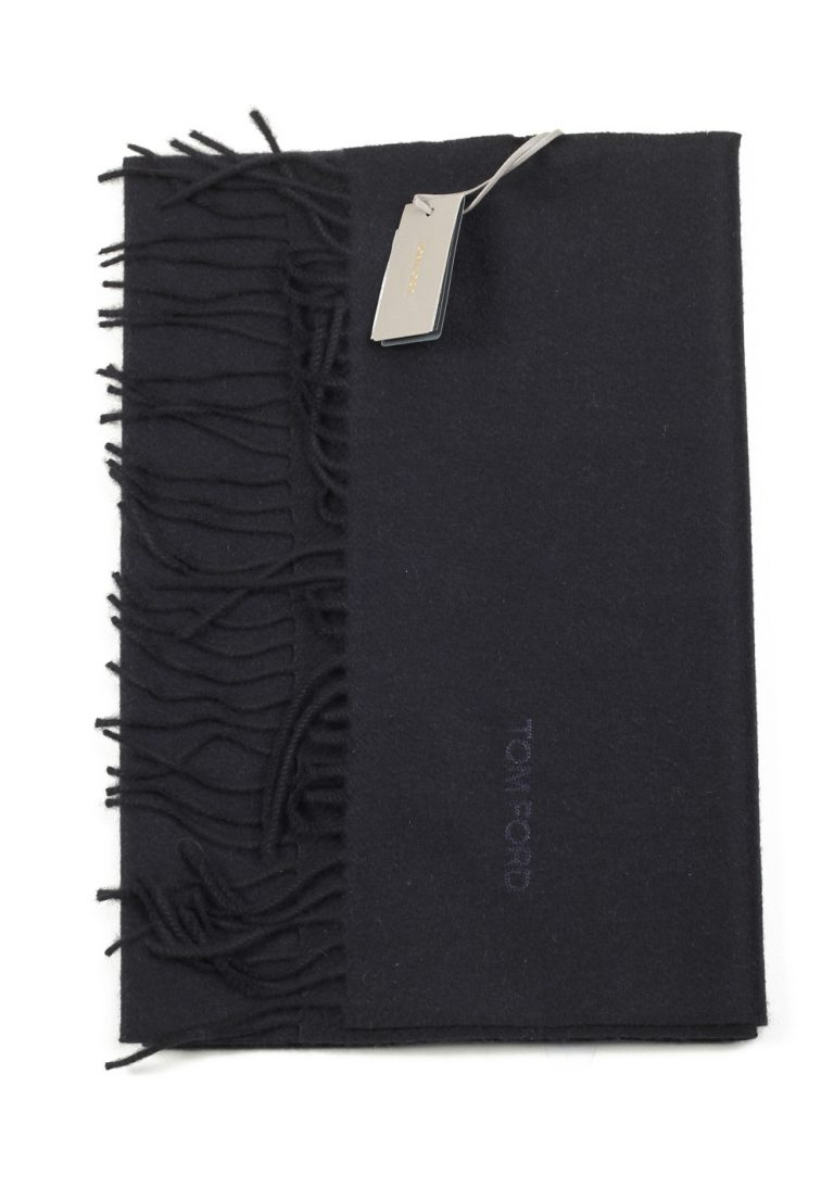 Tom Ford Black Cashmere Signature Scarf 60″ / 14″ - thumbnail | Costume Limité