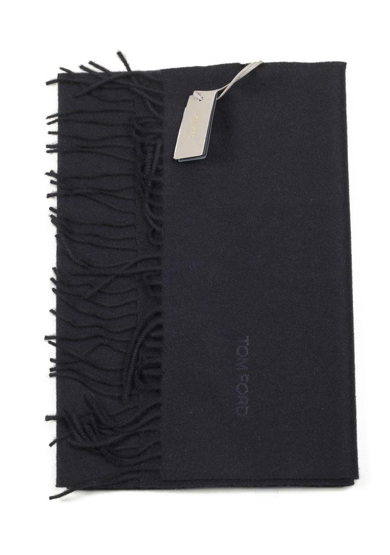 Tom Ford Black Cashmere Signature Scarf 60″ / 14″ - thumbnail | Costume Limité
