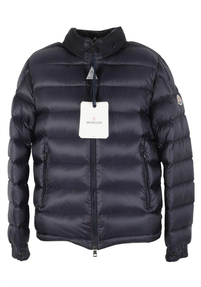 Moncler Blue Rodez Doudoune Jacket Coat Size 1 / S / 46 / 36 U.S. - thumbnail | Costume Limité