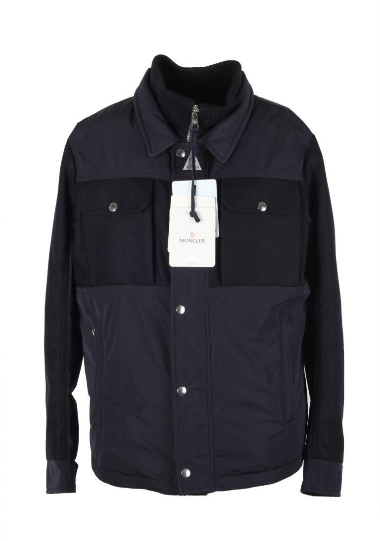 Moncler Blue Beaufort Utility Jacket Coat Size 4 / L / 52 / 42 U.S. - thumbnail | Costume Limité