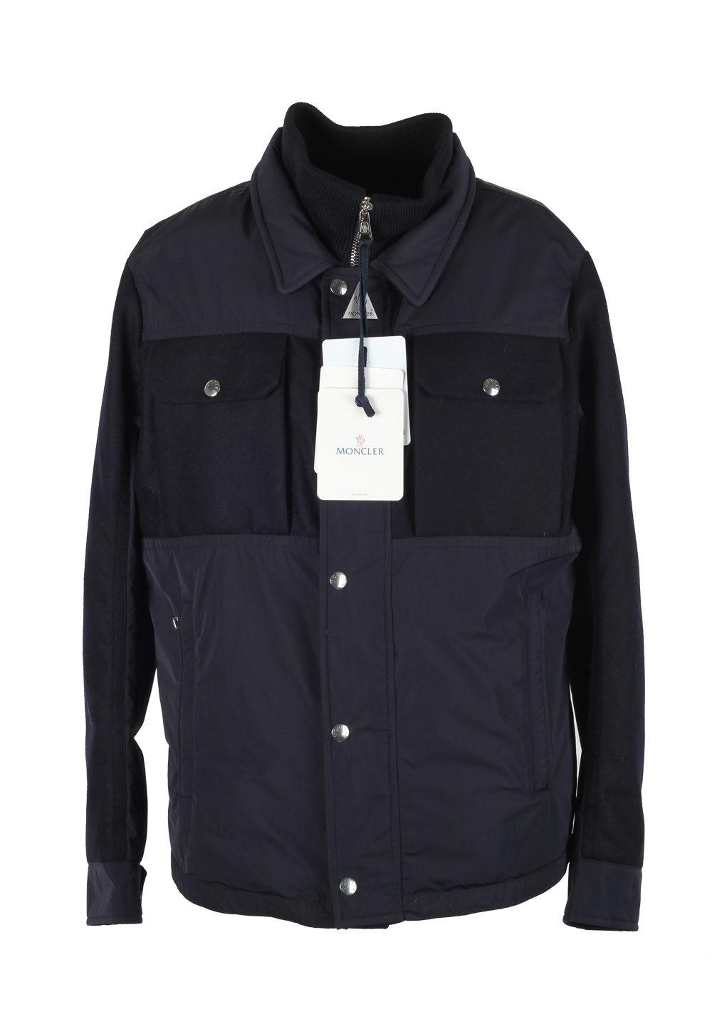 Moncler Blue Beaufort Utility Jacket Coat Size 6 / XXL / 56 / 46R U.S. | Costume Limité