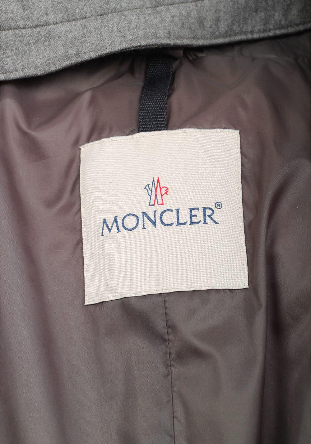 Moncler Gray Keid Saison Jacket Coat Size 6 / XXL / 56 / 46R U.S. | Costume Limité