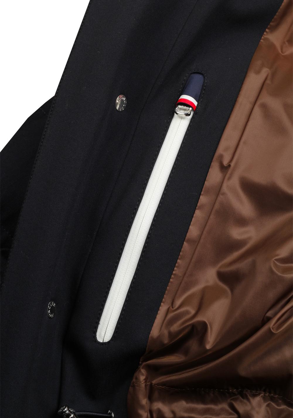 Moncler Blue Levet Field Jacket Coat Size 3 / M / 50 / 40 U.S. | Costume Limité
