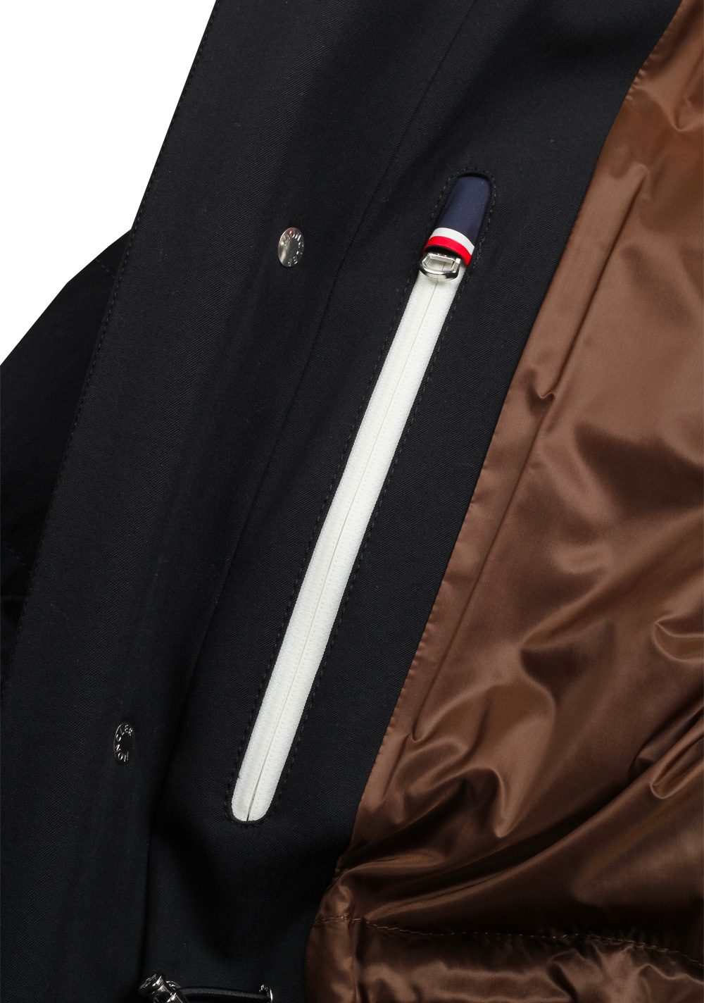 Moncler Blue Levet Field Jacket Coat Size 5 / XL / 54 / 44 U.S. | Costume Limité