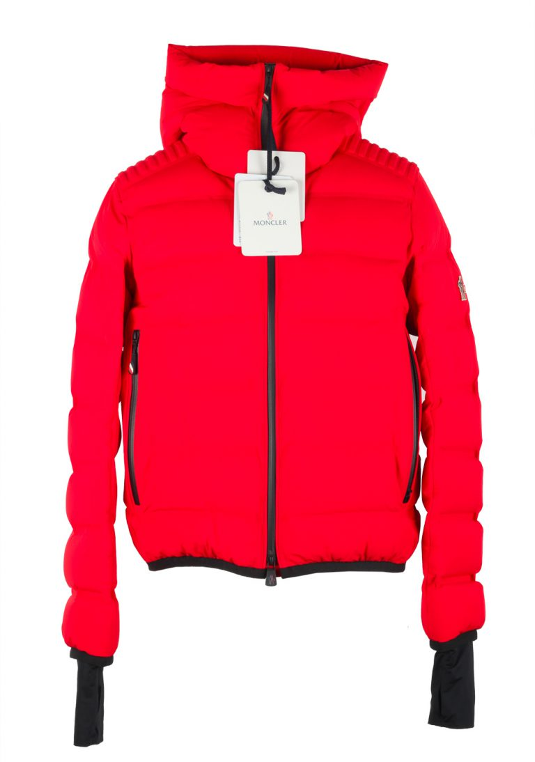 Moncler Red Grenoble Lagorai May Jacket Coat Size 2 / M / 48 / 38 U.S. - thumbnail | Costume Limité