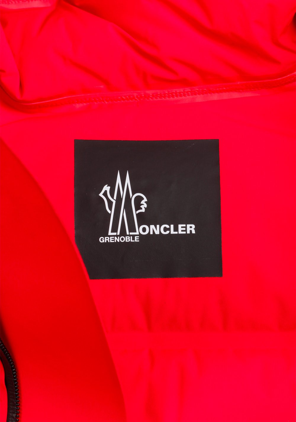 Moncler Red Grenoble Lagorai May Jacket Coat Size 2 / M / 48 / 38 U.S. | Costume Limité