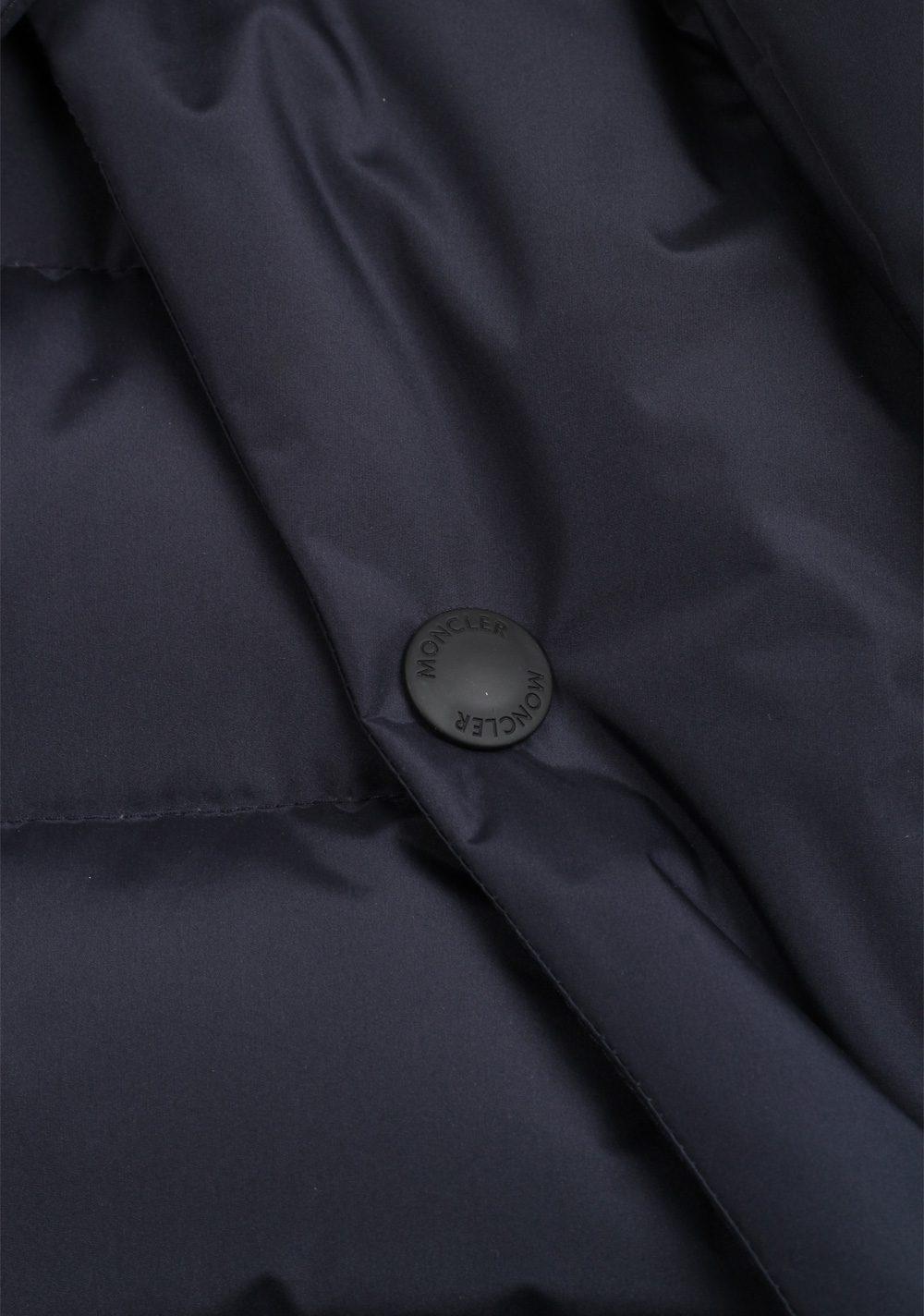 Moncler Blue Grenoble Arvieux Jacket Coat Size 4 / L / 52 / 42 U.S. | Costume Limité