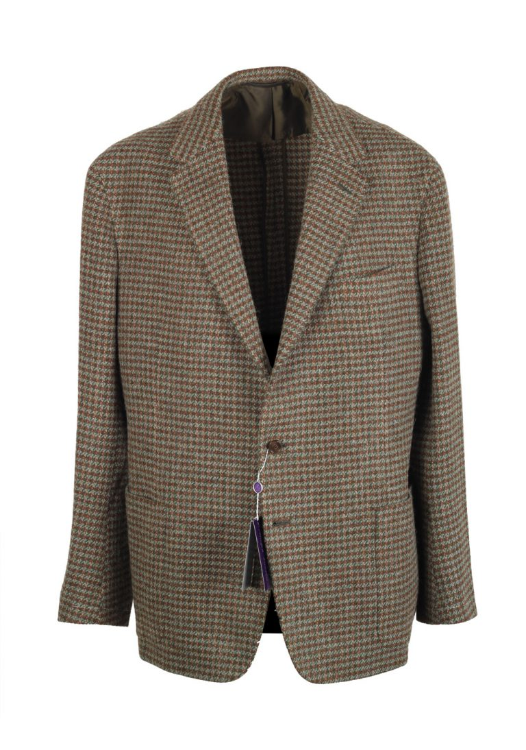 Ralph Lauren Purple Label Brown Sport Coat Size 56 / 46R U.S. In Lambswool Alpaca - thumbnail | Costume Limité