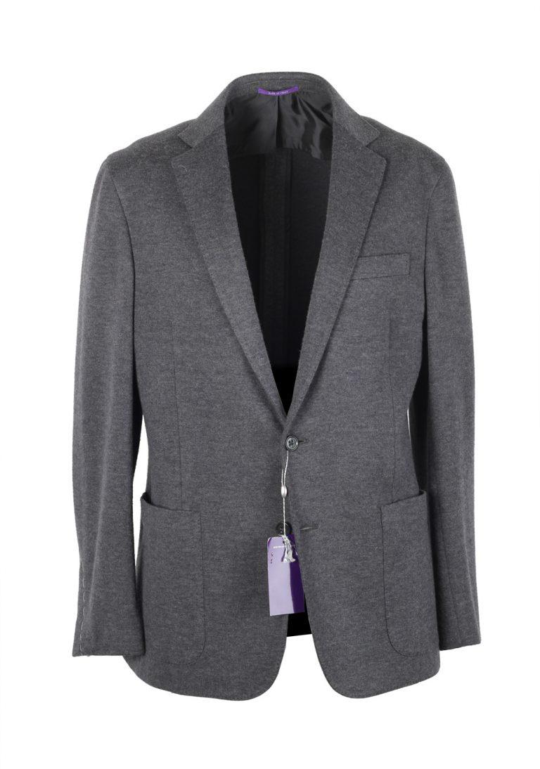 Ralph Lauren Purple Label Gray Sport Coat Size 52 / 42S U.S. In Wool Blend - thumbnail | Costume Limité