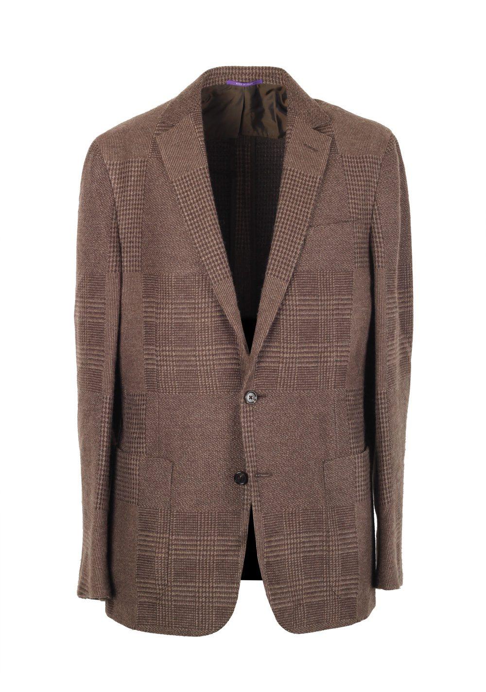 wholesale dealer f4393 e7c72 Ralph Lauren Purple Label Brown Sport Coat Size 50 / 40L U.S. In Cashmere  Blend