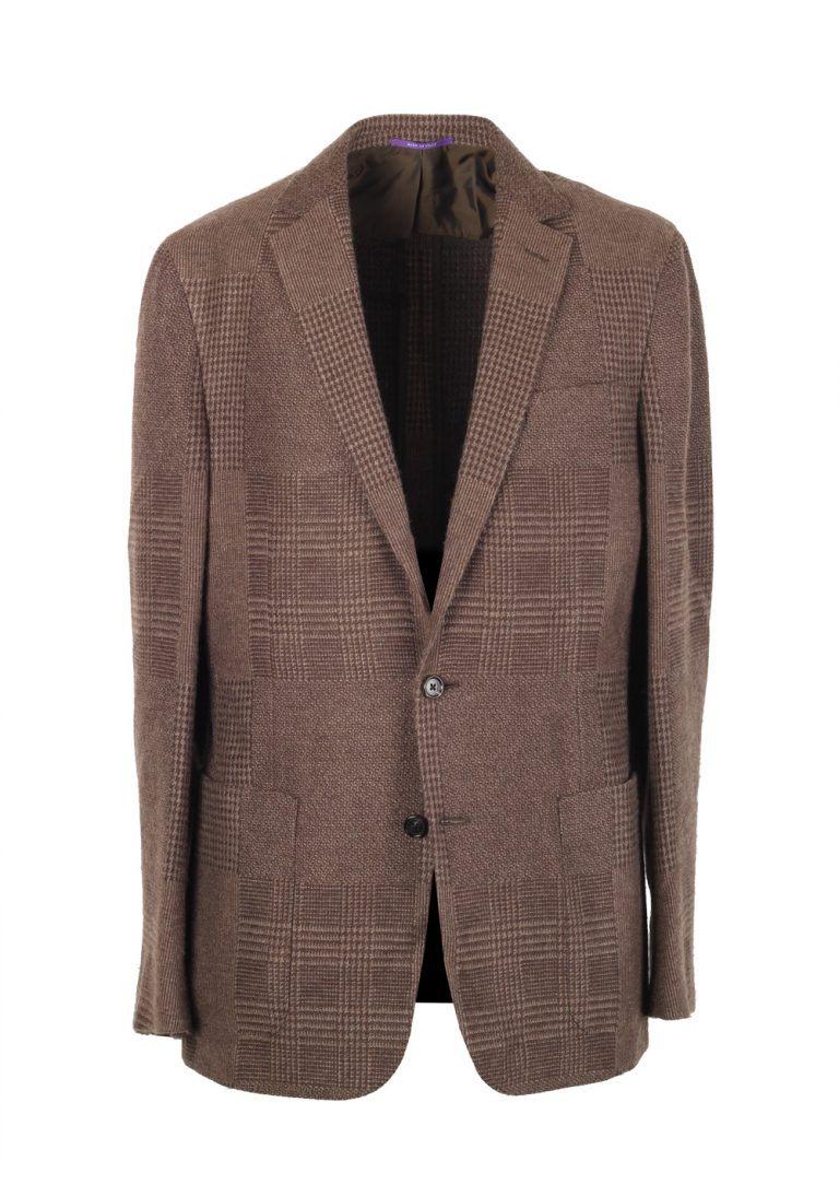Ralph Lauren Purple Label Brown Sport Coat Size 50 / 40L U.S. In Cashmere Blend - thumbnail | Costume Limité