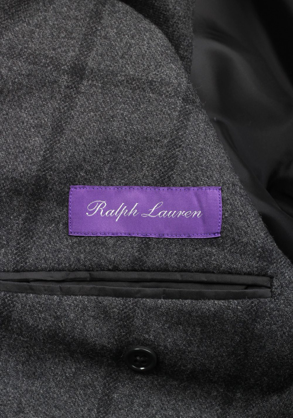 Ralph Lauren Purple Label Gray Sport Coat Size 52 / 42R U.S. In Cashmere Blend | Costume Limité