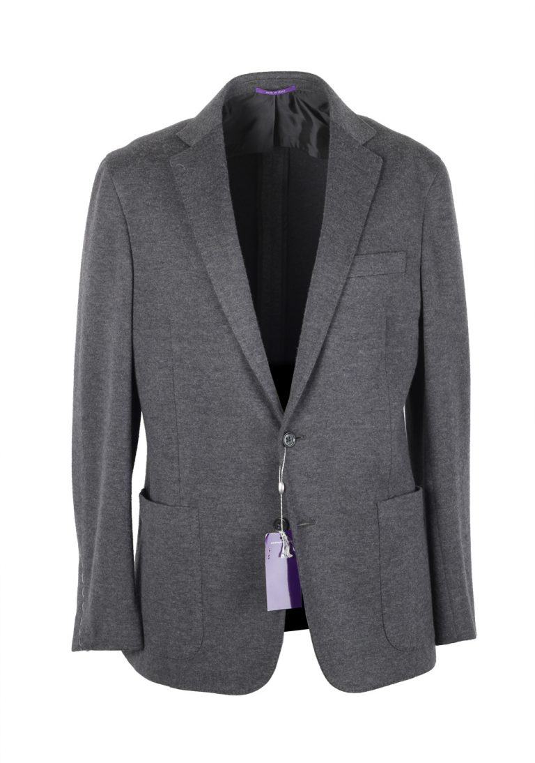 Ralph Lauren Purple Label Gray Sport Coat Size 50 / 40R U.S. In Wool Blend - thumbnail | Costume Limité