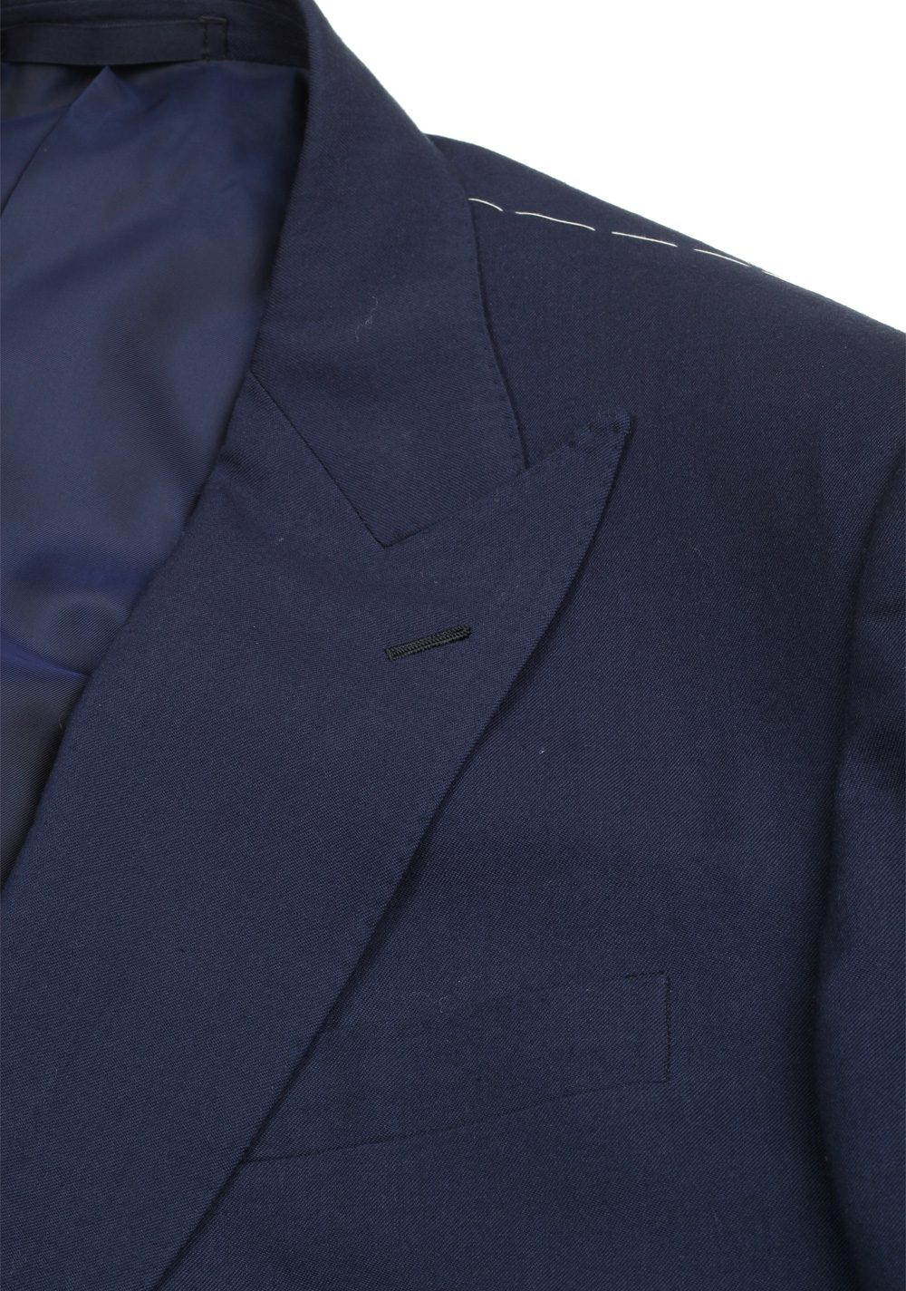 Ralph Lauren Purple Label Blue Suit Size 52 / 42R U.S. In Wool | Costume Limité