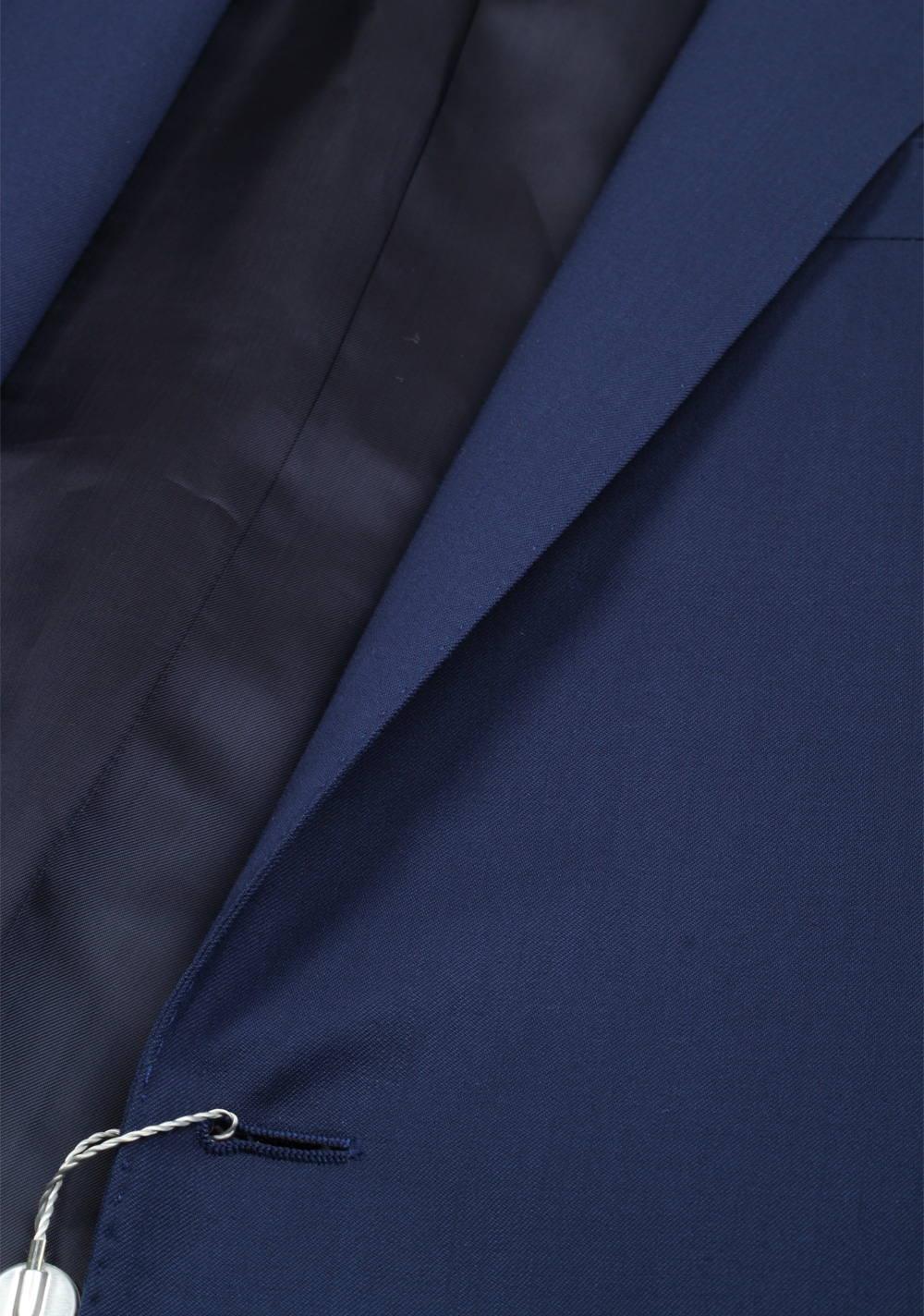 Ralph Lauren Purple Label Blue Suit Size 50L / 40L U.S. In Wool | Costume Limité