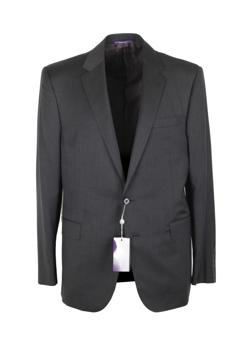 Ralph Lauren Purple Label Gray Suit Size 52 / 42R U.S. In Wool - thumbnail | Costume Limité