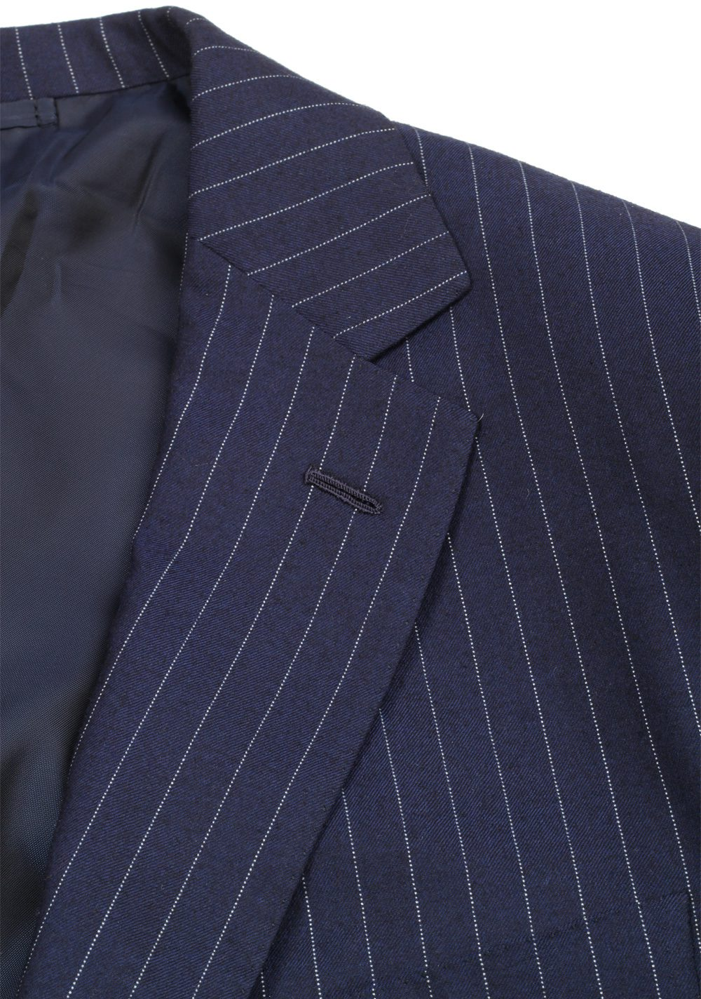 Ralph Lauren Purple Label Blue Suit Size 56 / 46 U.S. In Wool | Costume Limité