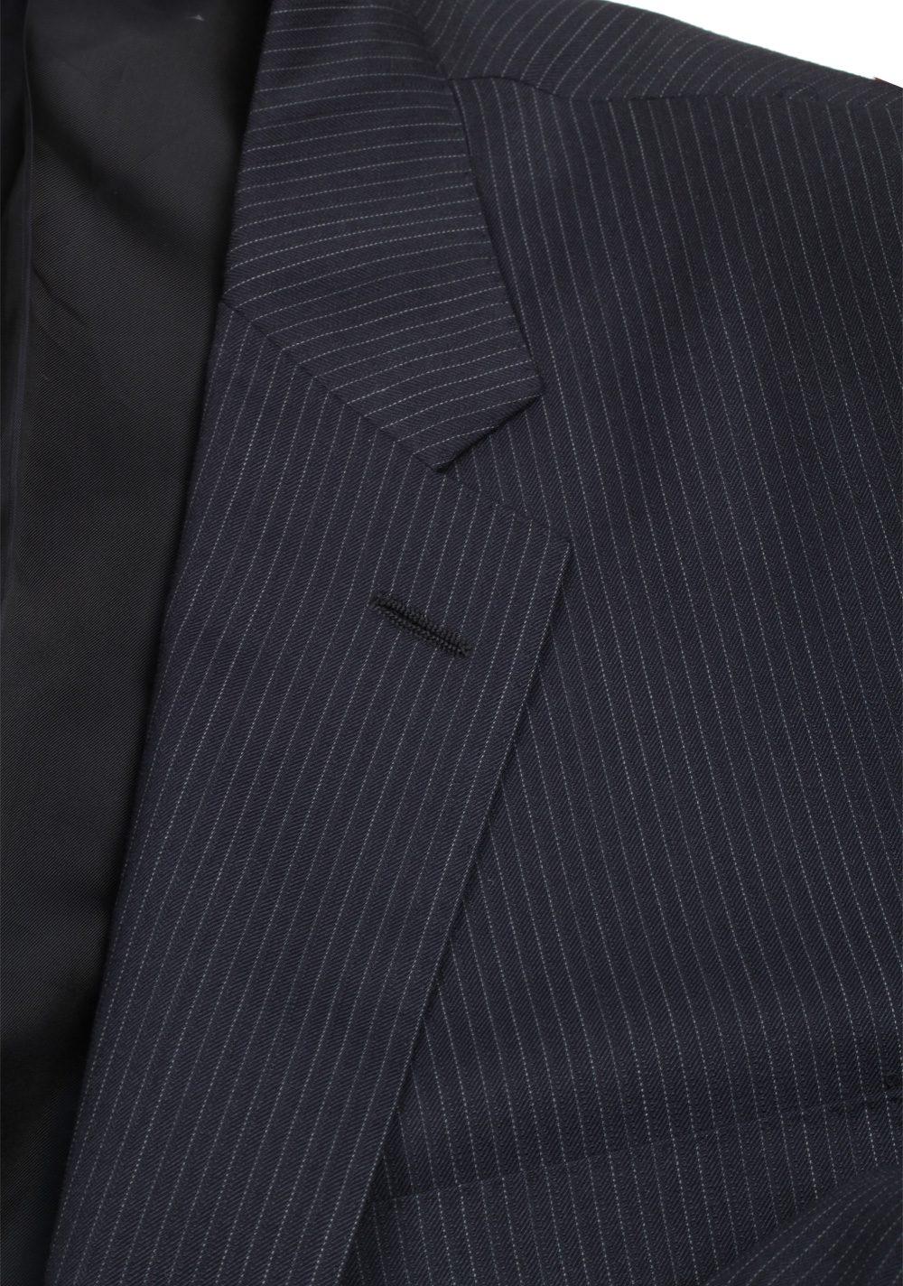 Ralph Lauren Purple Label Blue Suit Size 56 / 46 U.S. In Wool | Costume Limité