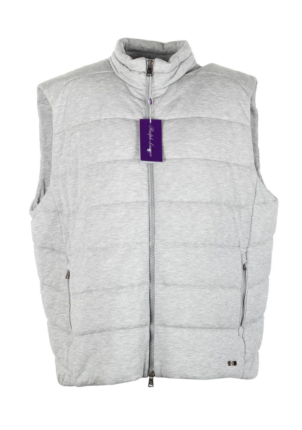 Ralph Lauren Purple Label Gray Gilet Vest Size XXL / 58 / 48 U.S. | Costume Limité