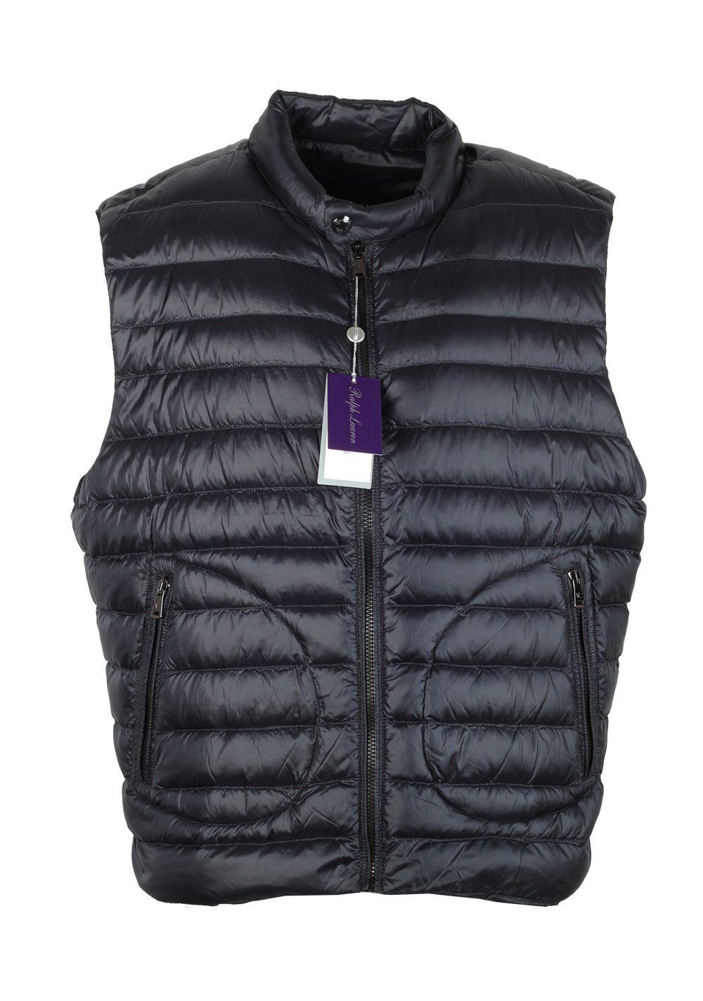 Ralph Lauren Purple Label Black Gilet Vest Size XXL / 58 / 48 U.S. | Costume Limité