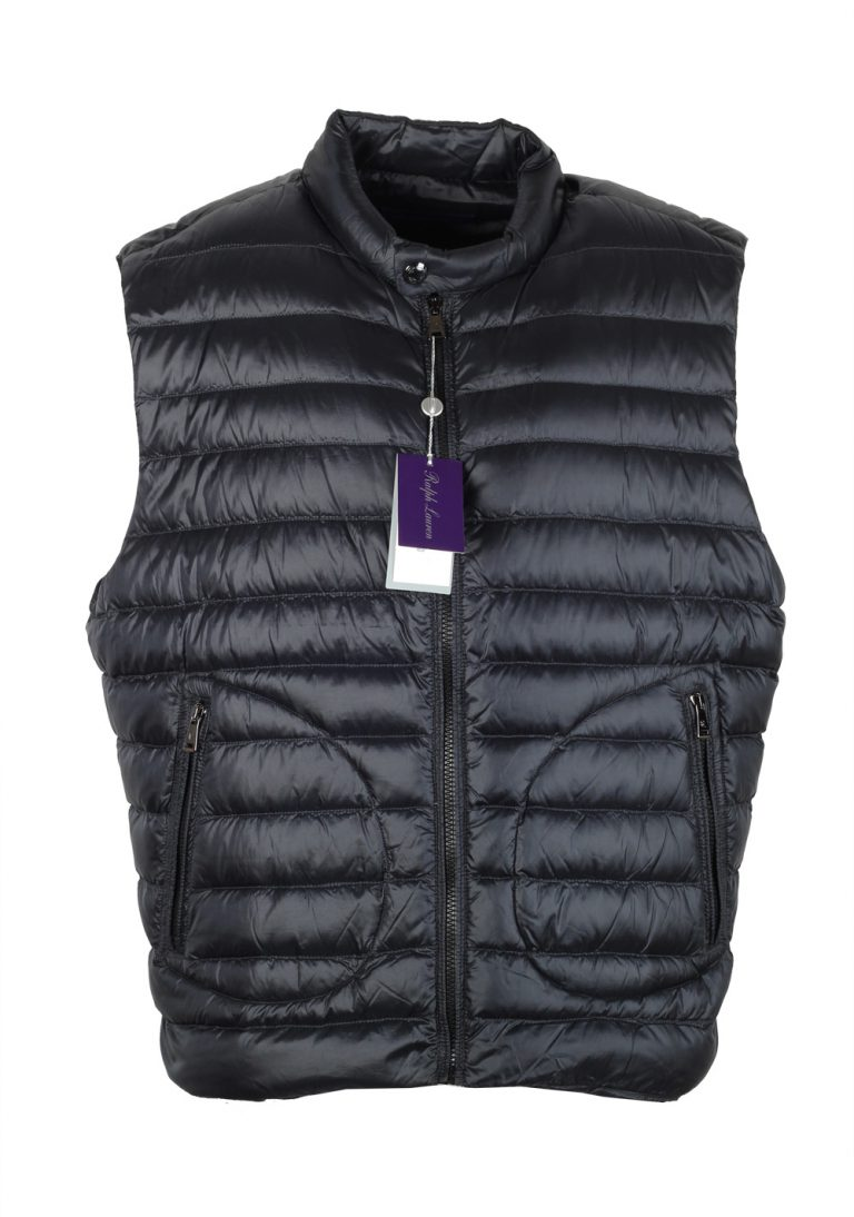 Ralph Lauren Purple Label Black Gilet Vest Size XXL / 58 / 48 U.S. - thumbnail | Costume Limité