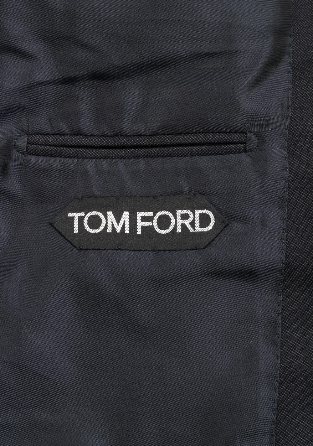 TOM FORD O'Connor Black Suit Size 48C / 38S U.S. Silk Wool Fit Y | Costume Limité