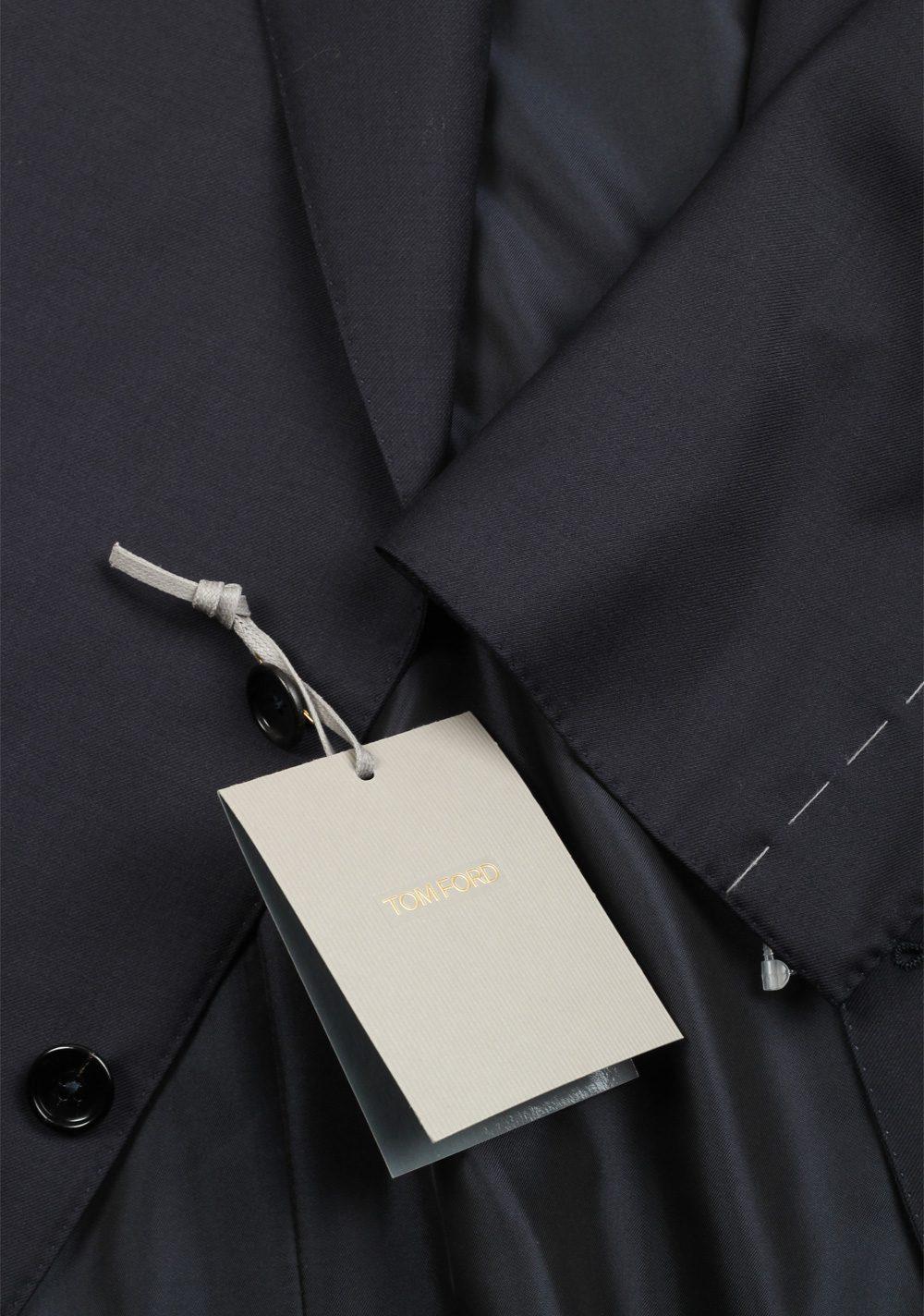 TOM FORD Shelton Blue Suit Size 56 / 46R U.S. Wool | Costume Limité