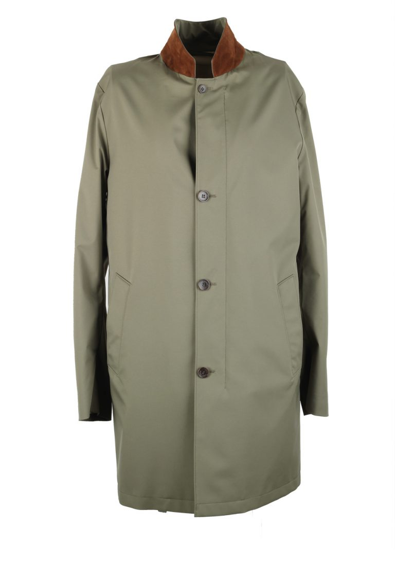 Loro Piana Green Storm System Sebring Coat Size M Medium Outerwear - thumbnail | Costume Limité