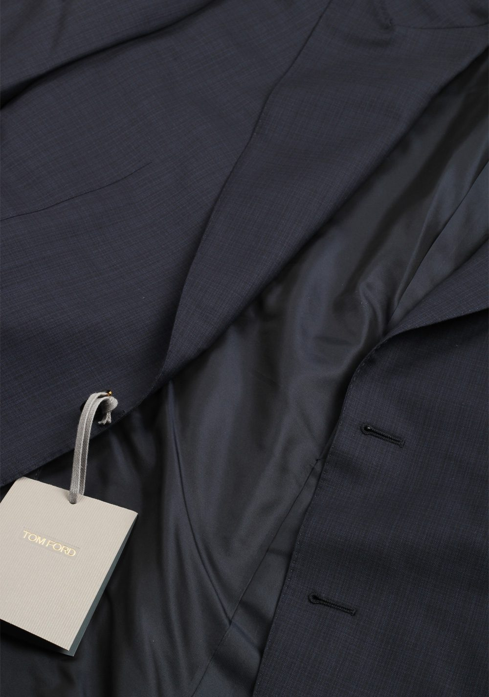 TOM FORD Windsor Blue Suit Size 52 / 42R U.S. In Wool Fit A   Costume Limité