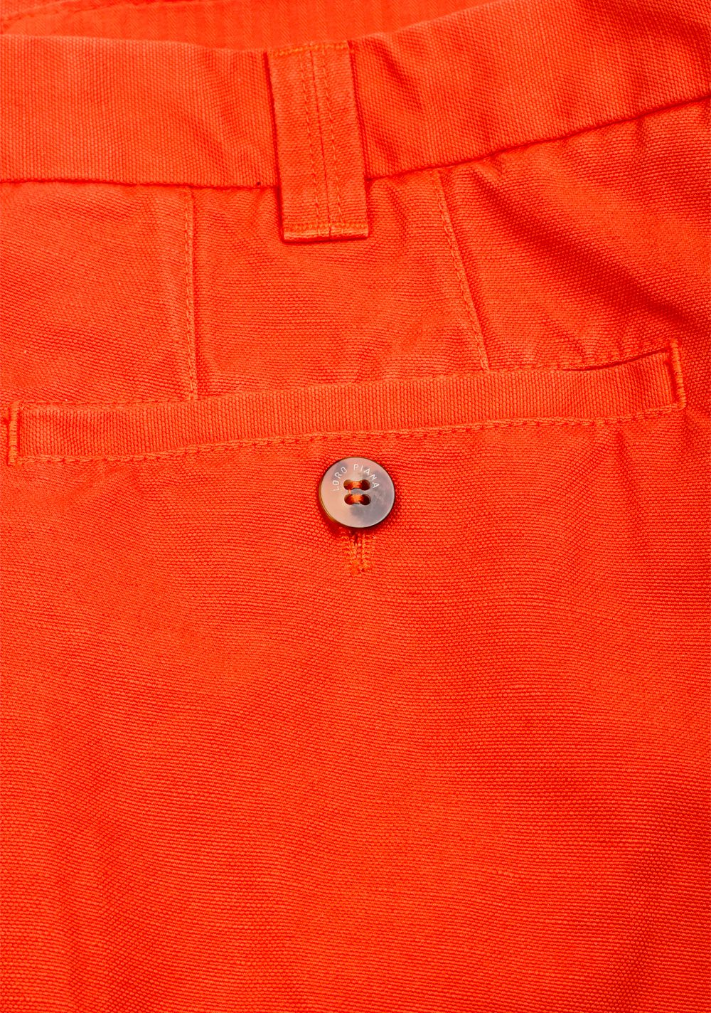 Loro Piana Orange Trousers Size 56 / 40 U.S. | Costume Limité