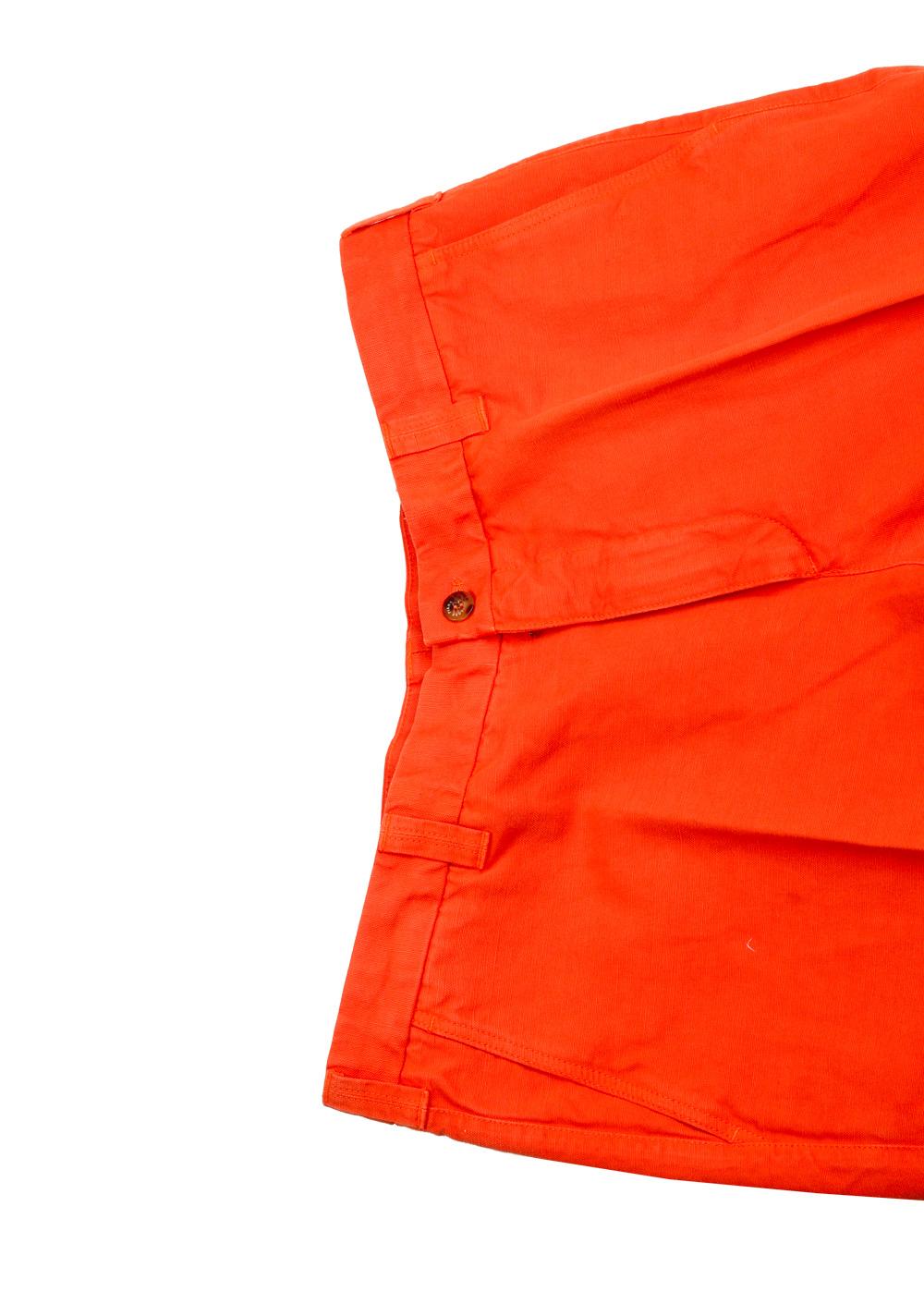 Loro Piana Orange Trousers Size 56 / 40 U.S.   Costume Limité