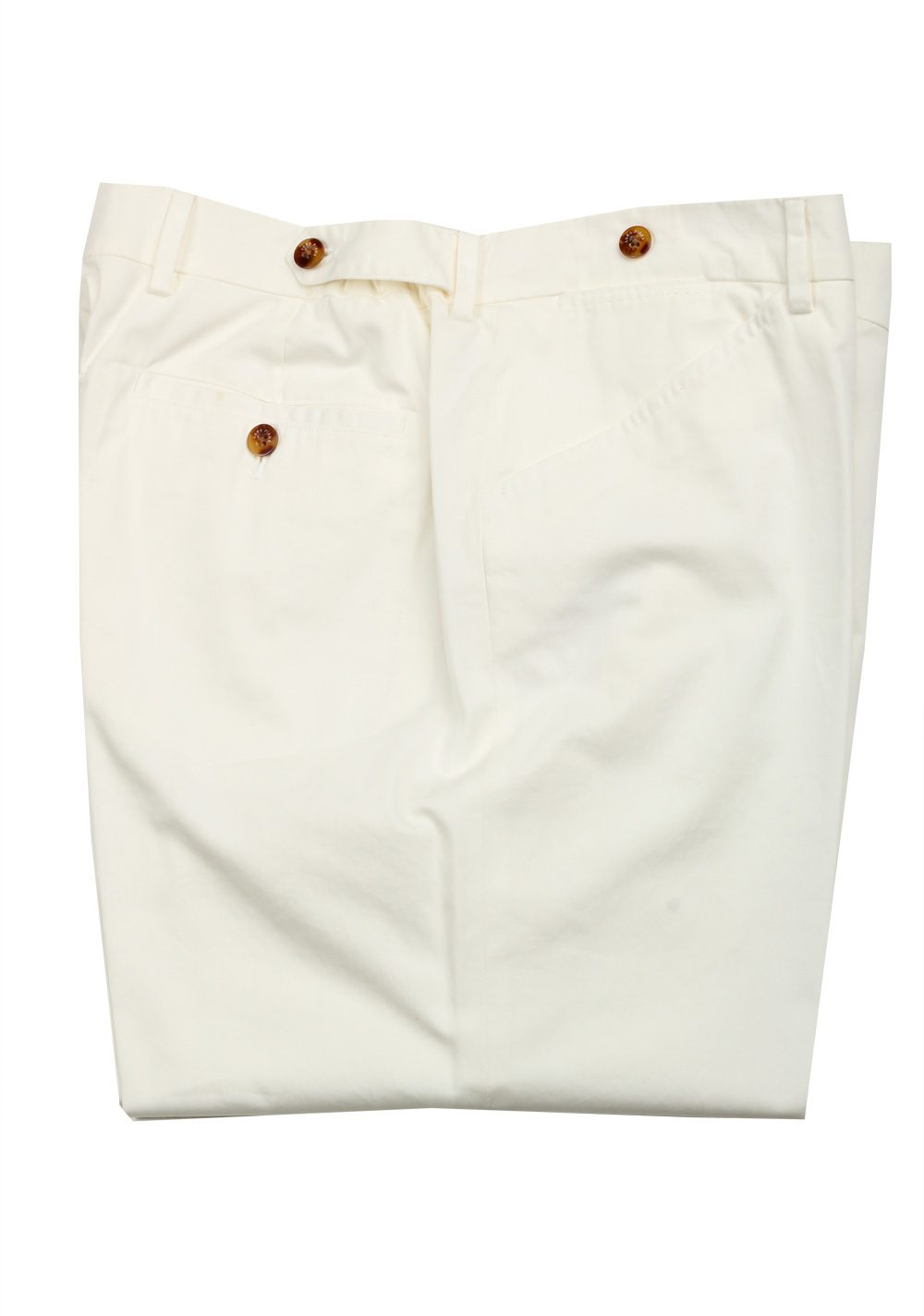 Loro Piana Off White Trousers Size 56 / 40 U.S. | Costume Limité