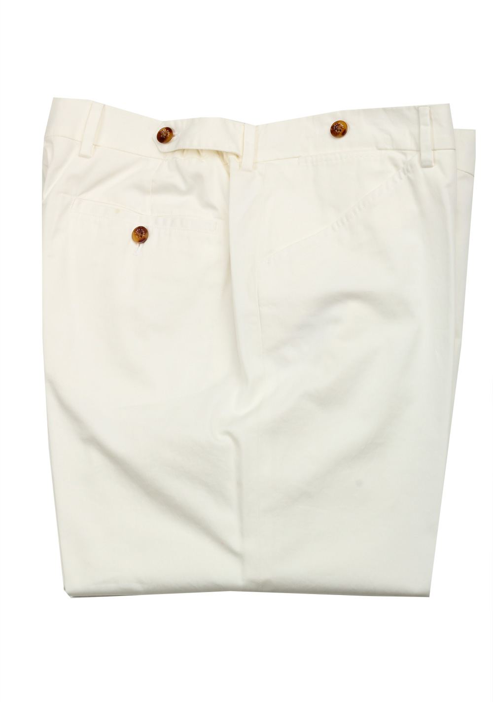 Loro Piana Off White Trousers Size 56 / 40 U.S. | Costume Limité