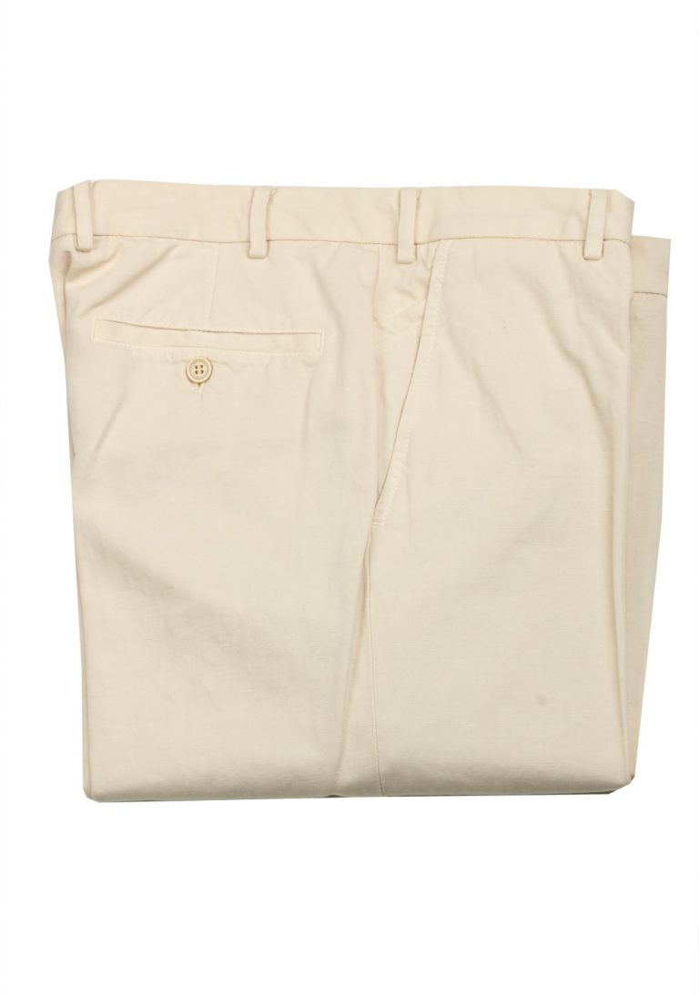 Loro Piana Off white Trousers Size 48 / 32 U.S. - thumbnail | Costume Limité
