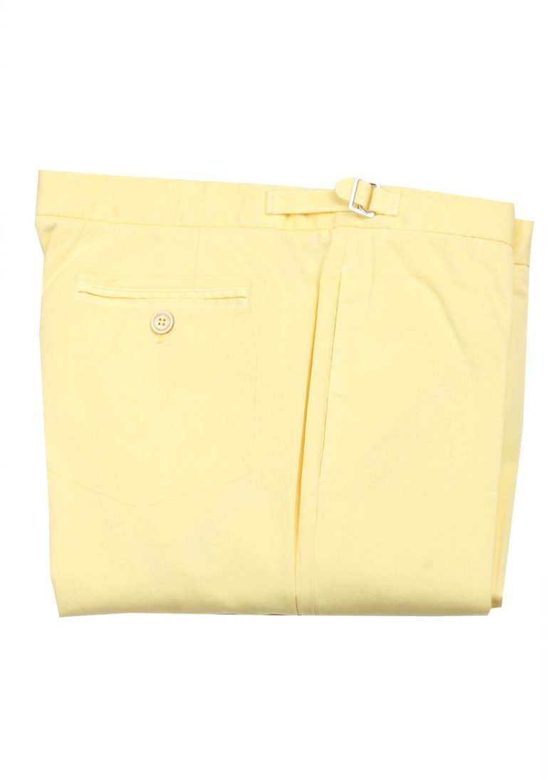 Loro Piana Yellow Trousers Size 50 / 34 U.S. - thumbnail | Costume Limité