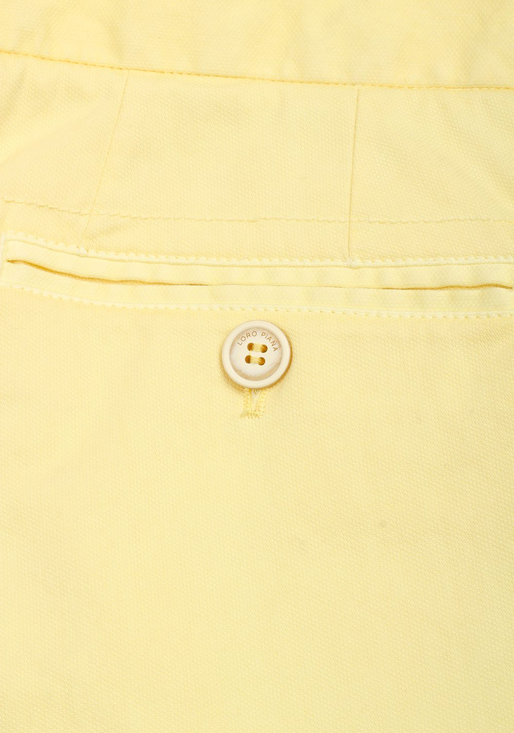 Loro Piana Yellow Trousers Size 50 / 34 U.S. | Costume Limité