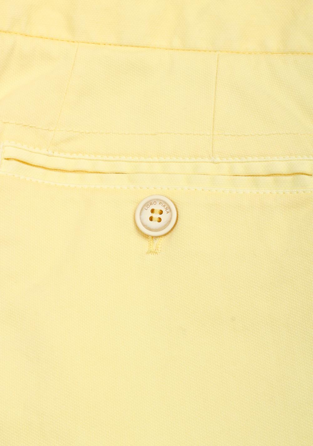Loro Piana Yellow Trousers Size 48 / 32 U.S.   Costume Limité