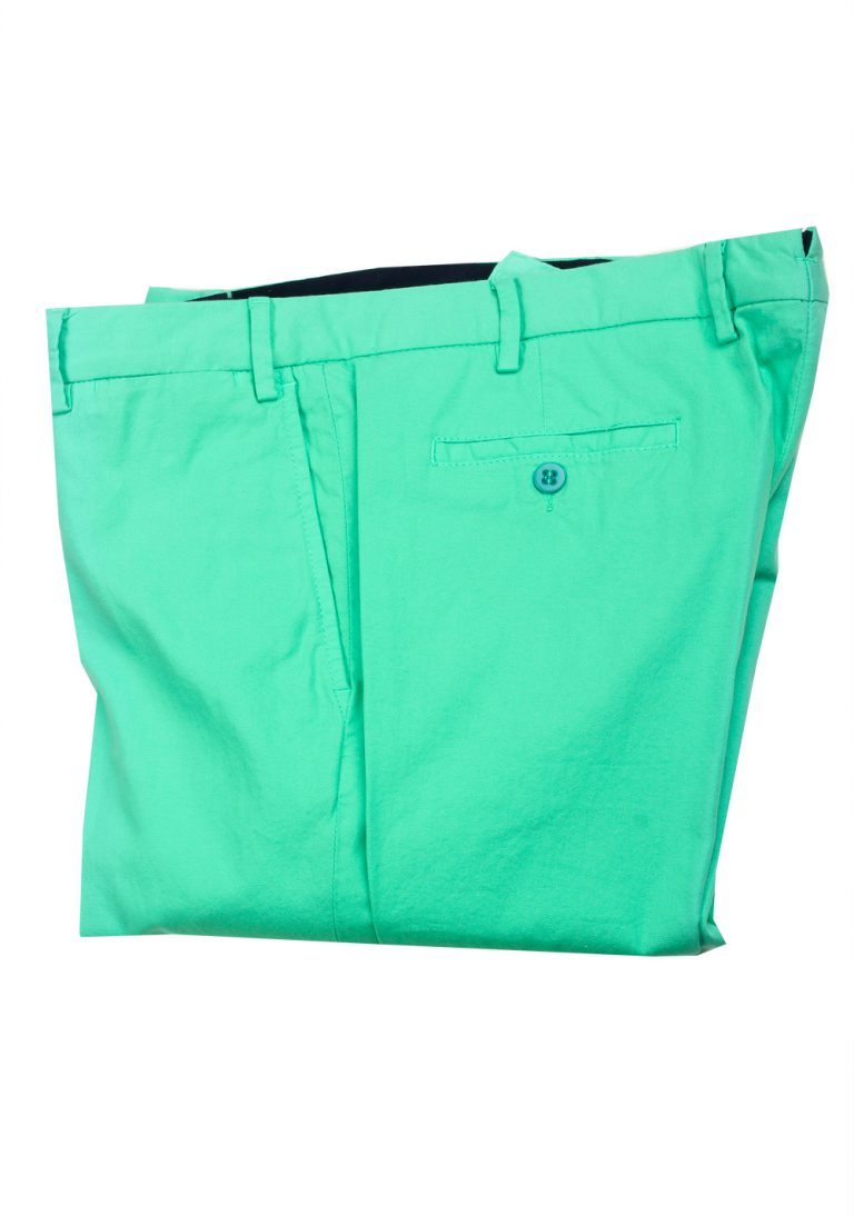 Caruso Green Trousers Size 54 / 38 U.S. - thumbnail | Costume Limité