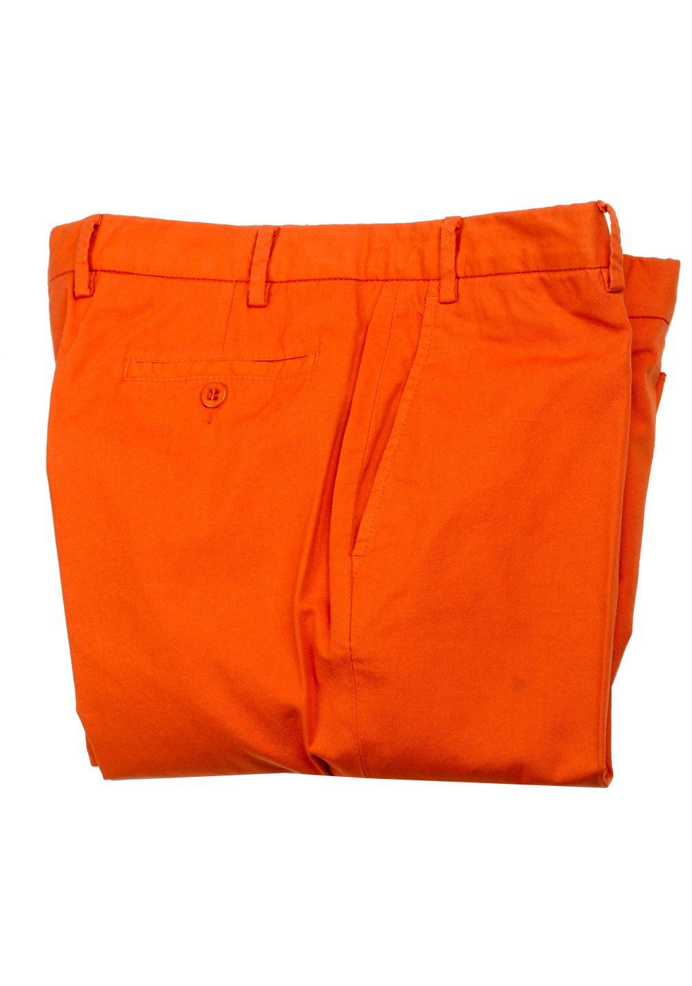 Caruso Orange Trousers Size 54 / 38 U.S. | Costume Limité