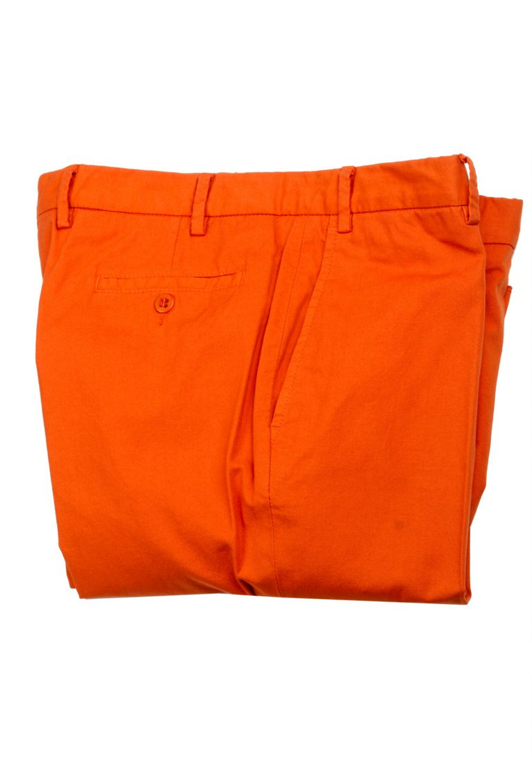 Caruso Orange Trousers Size 54 / 38 U.S. - thumbnail | Costume Limité
